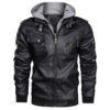 Denzell Outwear Casual Leather Jacket