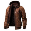 Denzell Outwear Pure Leather Jacket
