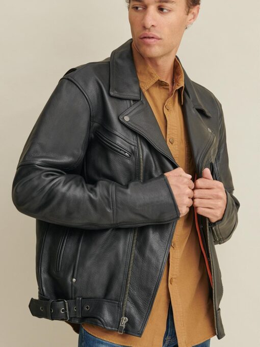 Rider Jacket with Padded Lining
